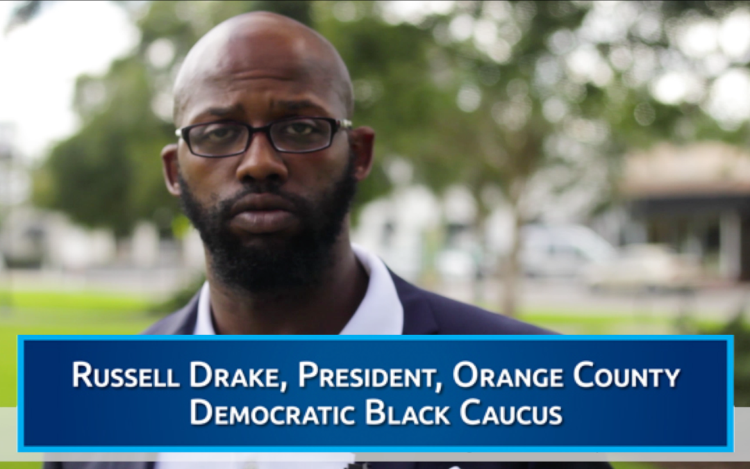 Orange County Democratic Black Caucus President Russell Drake endorses Eric Rollings