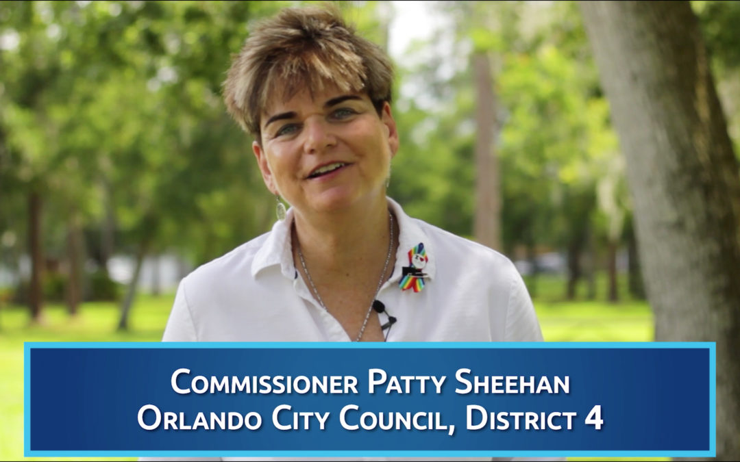 Orlando City Commissioner Patty Sheehan endorses Eric Rollings