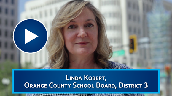 Orange County School Board Vice Chair Linda Kobert Endorses Eric Rollings for County Commission District 3